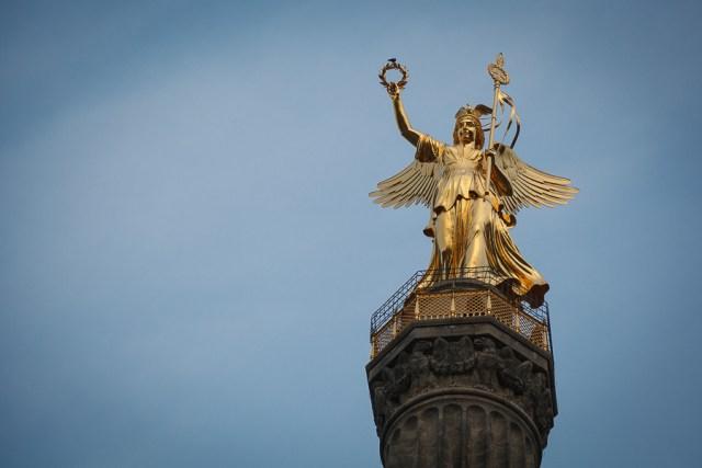 Золотая Виктория, достопримечательности Берлина