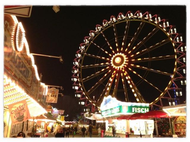 Рождественская ярмарка. Гамбург, 2012