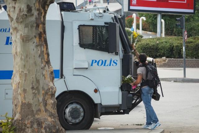 Мирный протест, Стамбул