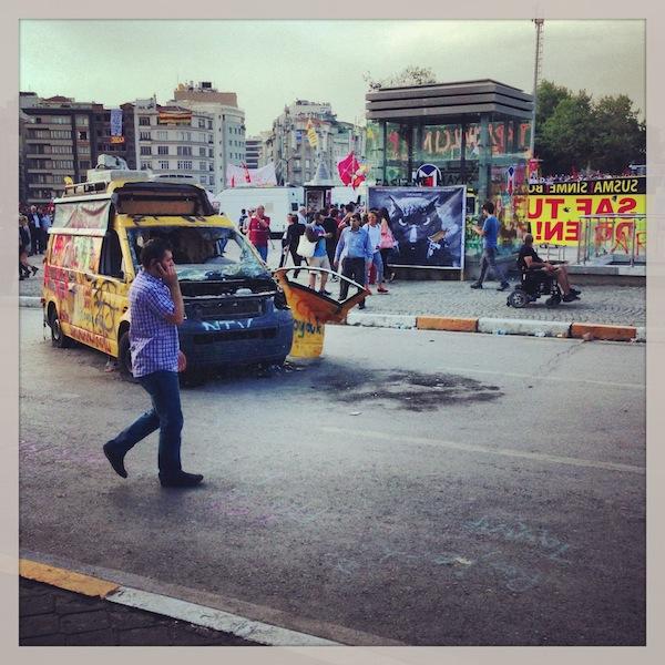 Беспорядки рядом с парком Таксим-Гези, Стамбул
