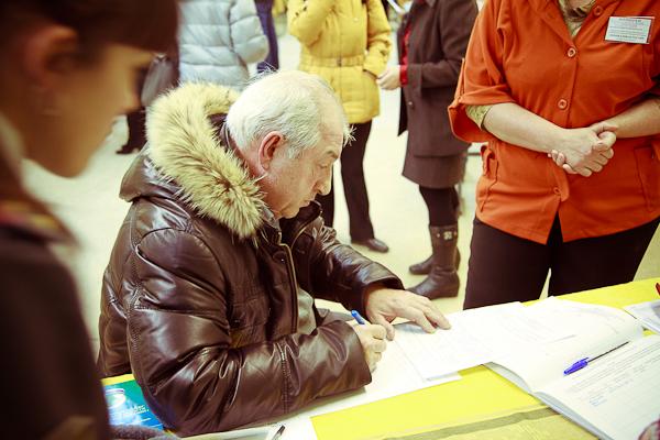 Выборы в госдуму 2012, 4 декабря. Скандальный дед