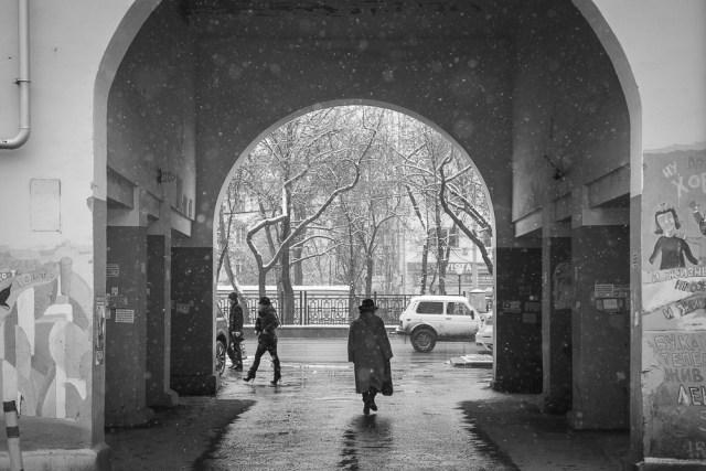Первый снег. Екатеринбург 2012