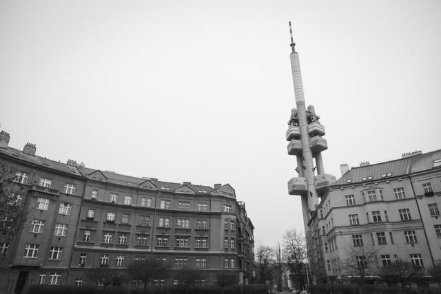 Жижковская башня, Прага