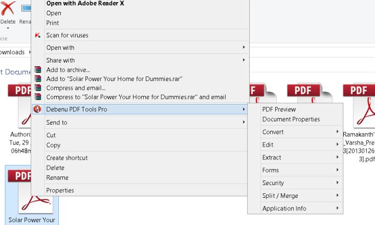 debenu pdf tools pro interface
