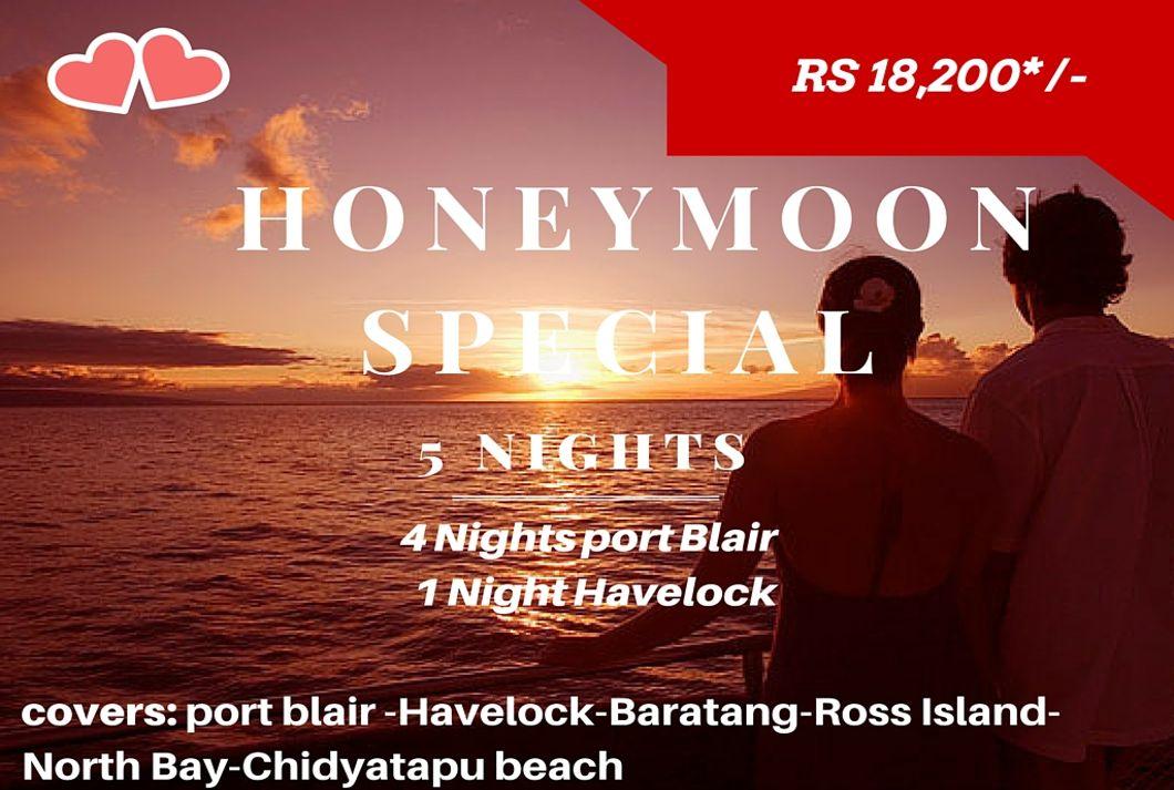 Honeymoon Special – 5N/6D