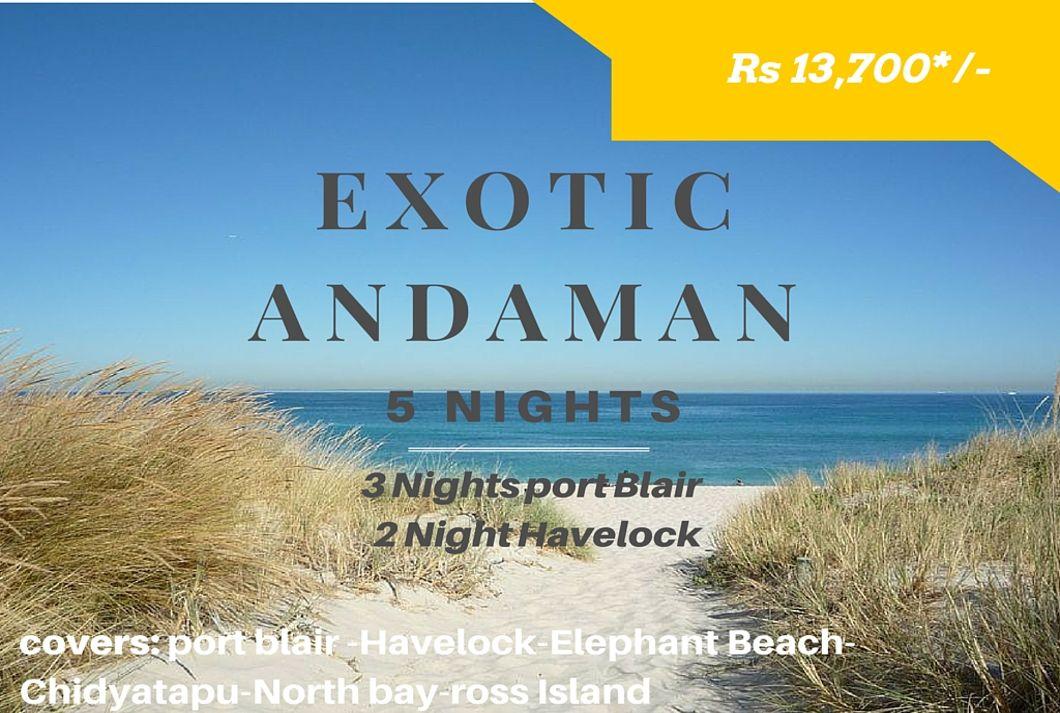 Exotic Andaman – 5N 6D