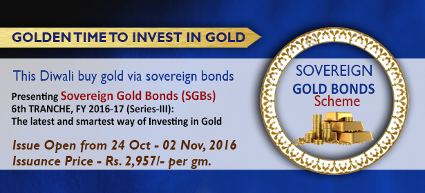 Sovereign Gold Bond (SGB) Scheme – Series 3 (Trenche 6)