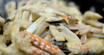 resepi creamy butter crabs