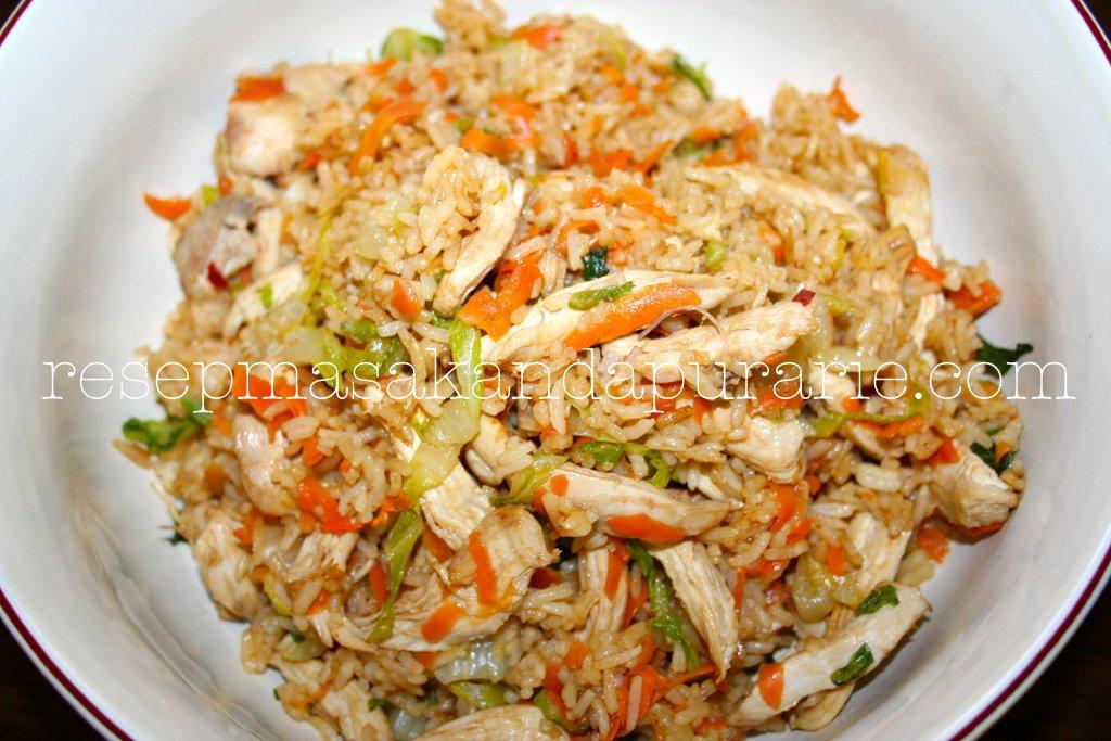 Resep Cara Membuat Nasi Goreng Ayam Sederhana