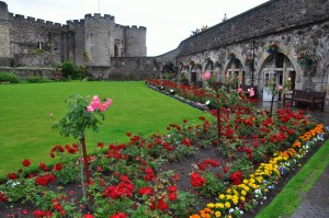 The inner courtyard of Stirling Castle