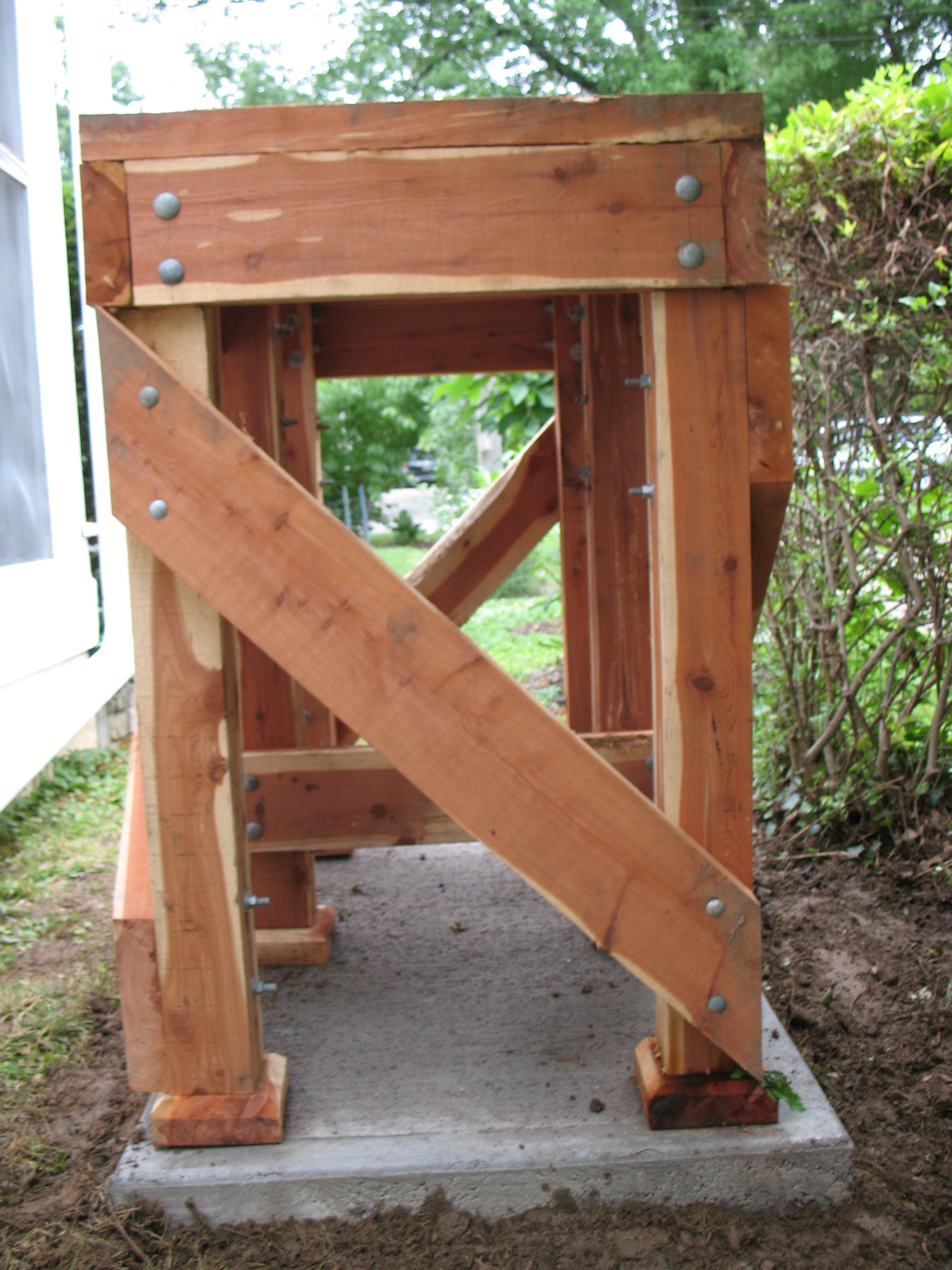 Fullsize Of Rain Barrel Stand