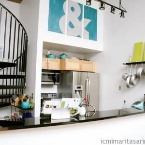 Küçük Mutfak Tasarımları (6)