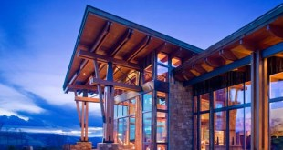 Dağ Evi İç Mekan Tasarımı (2)