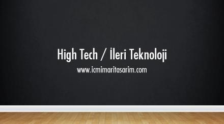 high-tech-nedir-ppt