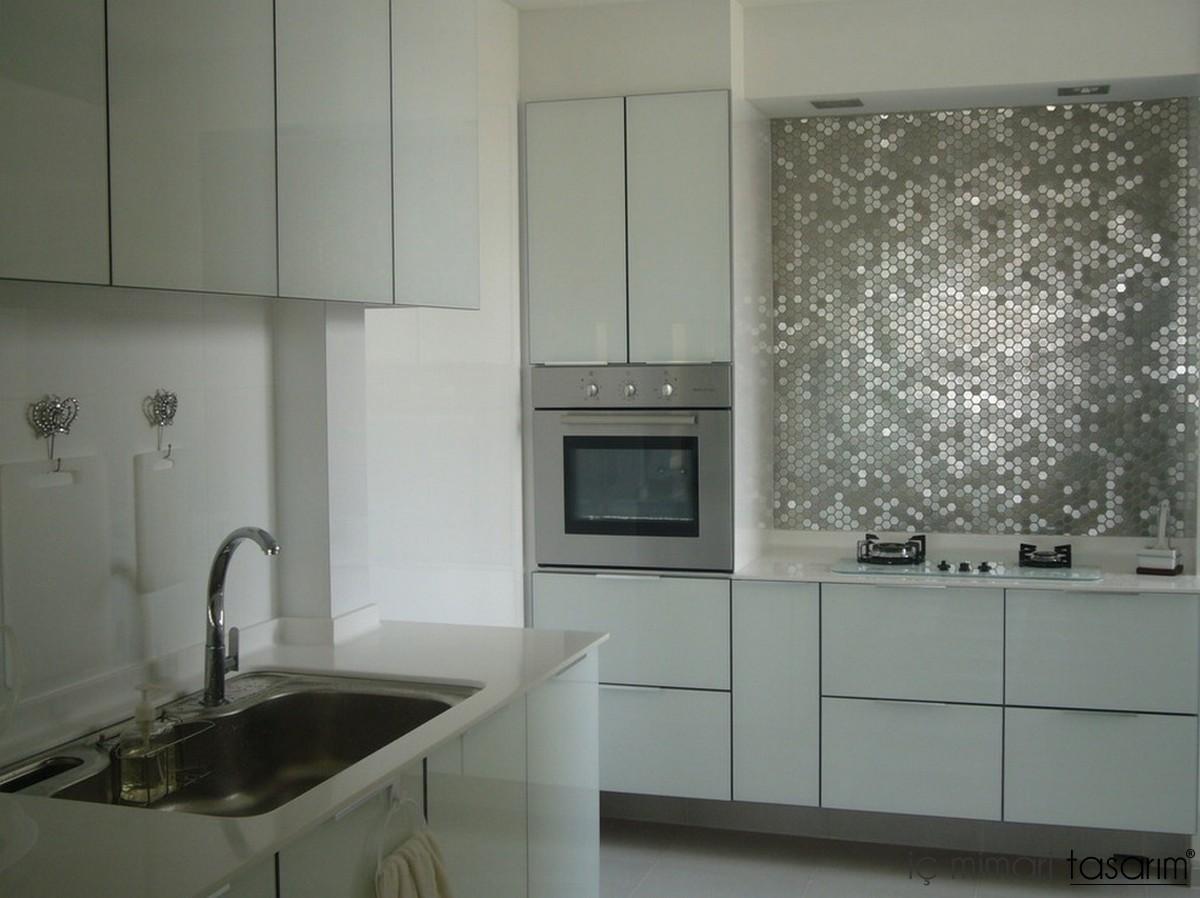 10 SHEET 10 SQUARE FEET Blue Silver Mosaic Tiles Mesh