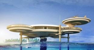 Dubai'de Disk Şekli Tasarımlı Su altı Hotel (1)