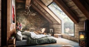 En Şık Çatı Katı Tasarımları (18)