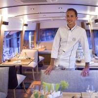 Manger dans un bus, c'est possible et confortable !