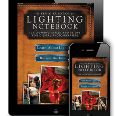 Kevin Kubota Lighting Notebook – There's an app for that!