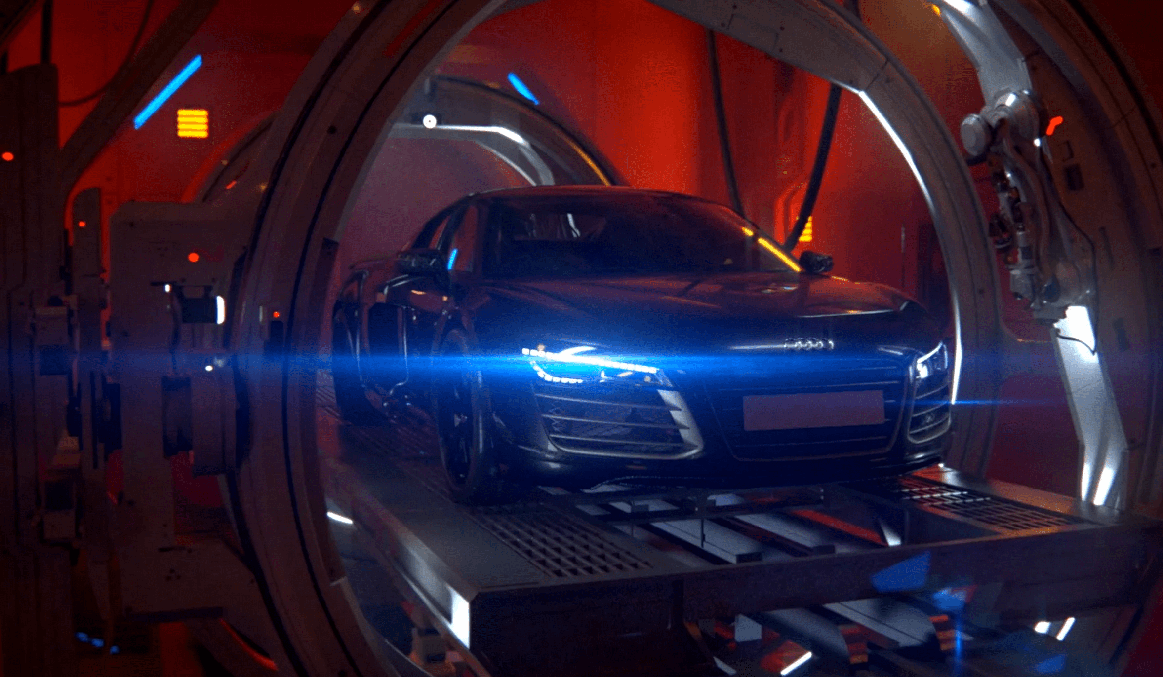 Wonderful Behind The Scenes Of The Amazing Audi CGI Commercial