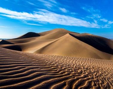 Lut Desert: Sand dunes in Rig-e Yallan