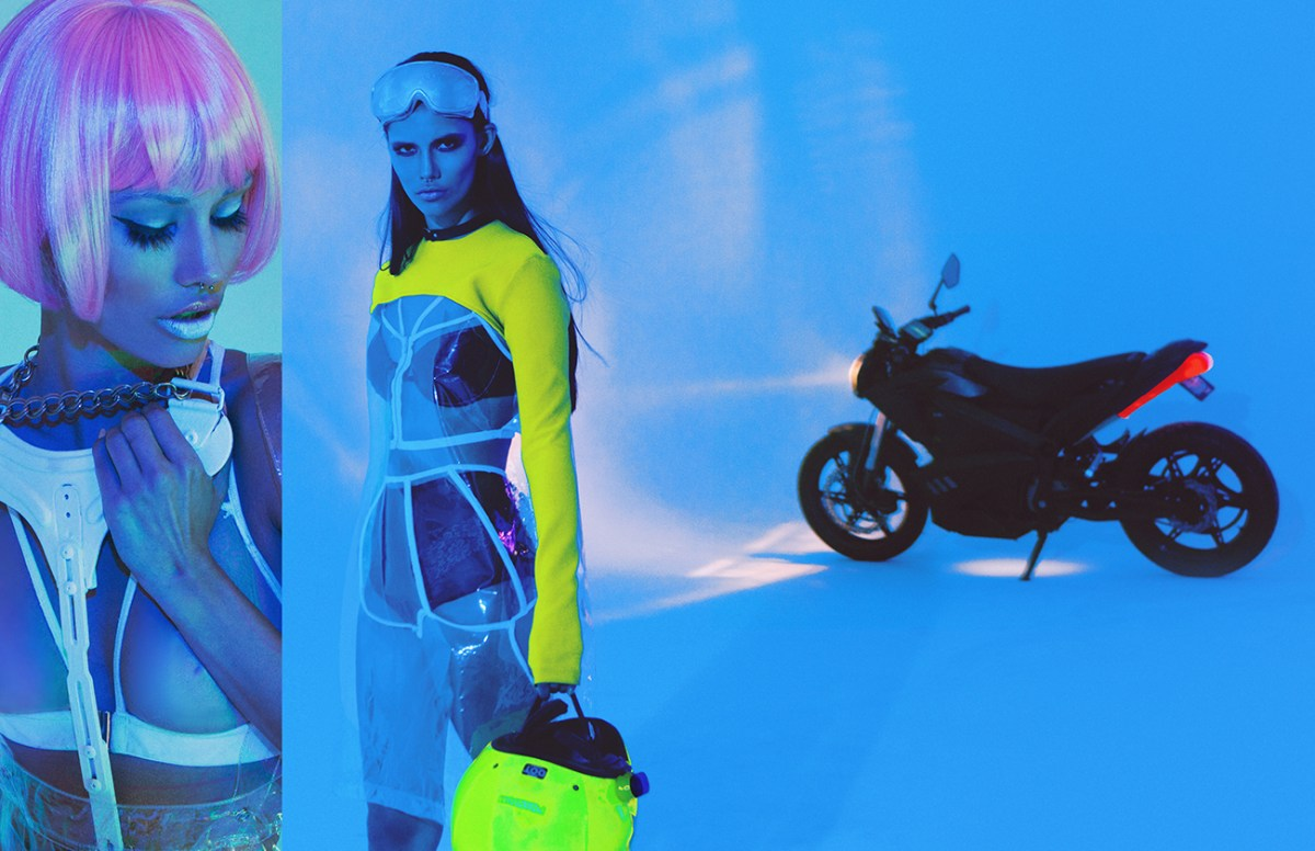 Photographer Processes Trauma of Motorcycle Accident in Cyber-Punk Beauty Series