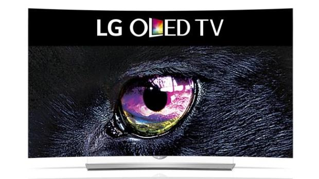 Darker shade of black ... LG's 4K-capable OLED televisions deliver pure black.