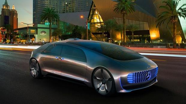 Mercedes' F105 driverless car concept was unveiled at CES earlier this year.