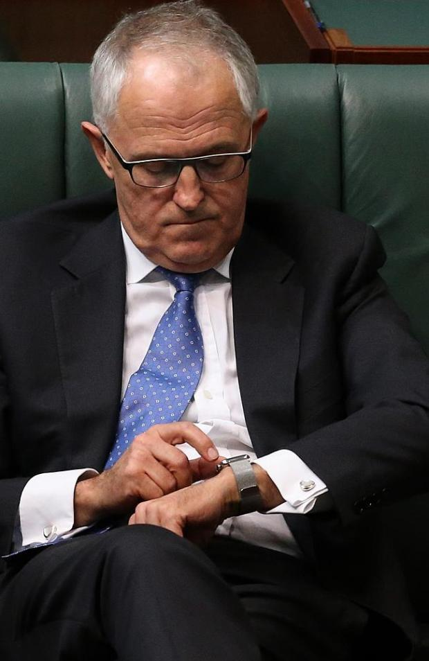 Malcolm Turnbull is one of the 3 million with an Apple Watch.