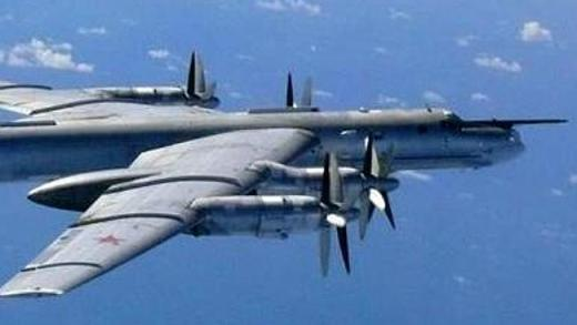 "The Russian ""Bear"" ... Tu-95 strategic bombers, in service since the 1950s, have been inc"