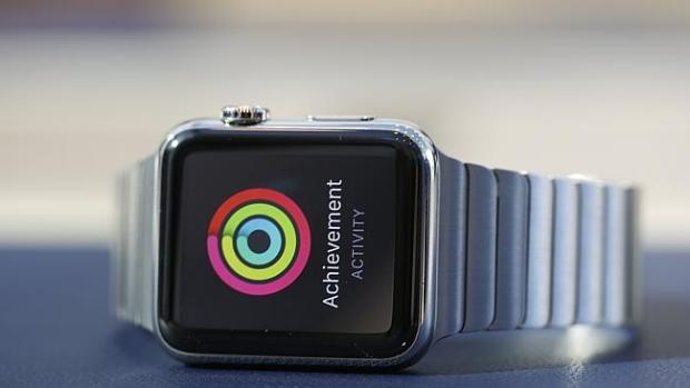 Shiny and new ... expect a lot of boosting about the success of the Apple Watch. Picture: