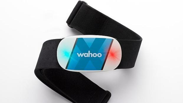 Phone free ... Wahoo's TICKR X chest strap can measure and store the wearer's heart rate