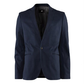 navy blazer