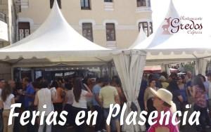 restaurante gredos Ferias plasencia