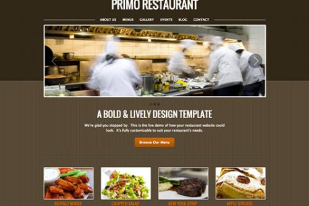 primo restaurant website template thumb