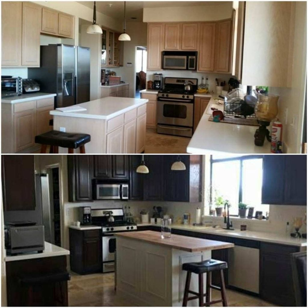 use general finishes gel stain gel stain kitchen cabinets use General Finishes gel stain on kitchen cabinets