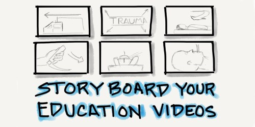 Storyboard Your Education Videos