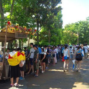 Disney SEA Japan queue line 4