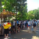 Disney SEA Japan queue line 4