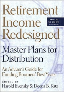Retirement Income Redesigned book cover