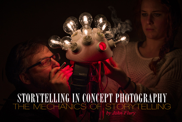 John Flury for Retouching Academy: Storytelling in Concept Photography. Part II: The Mechanics Of Storytelling