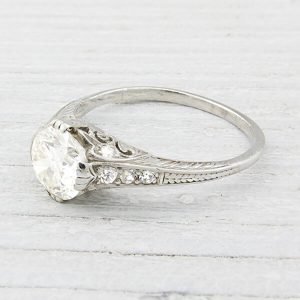Unique and Antique Engagement Rings