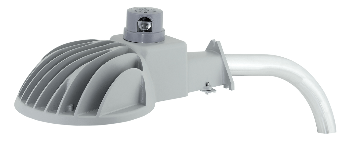 Security Luminaire Features Versatile Mounting Options