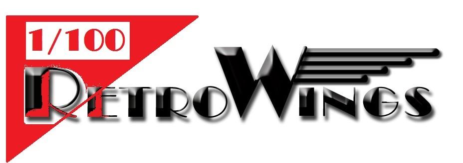 RetroWings 100 logo