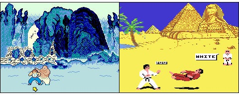 IGN Presents the History of Street Fighter   IGN Data East had release Karate Champ  a basic fighting game  in 1984  Konami  answered in 1985 with Yie Ar Kung Fu  One Two Kung Fu   staring martial  arts