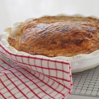 fast family dinners - super easy chicken pie