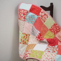 how to make a charm square quilt