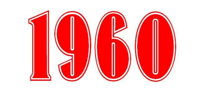 TOP 10 sláger 1960-ban