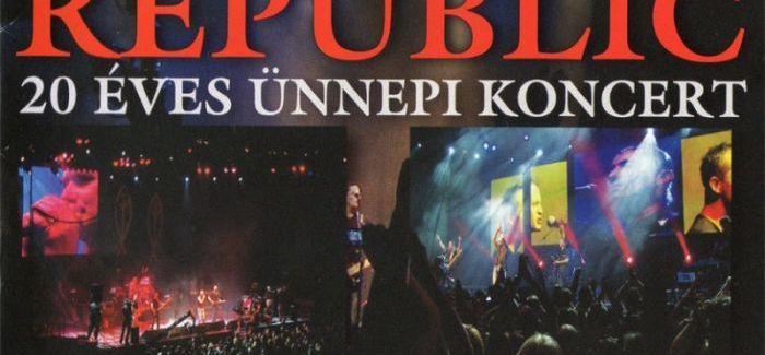 Republic: 20 éves ünnepi koncert – nézd meg!