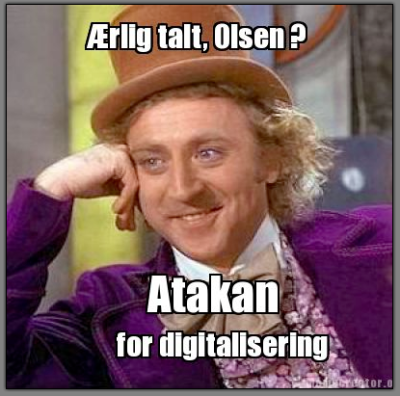 Atakan for digitalisering